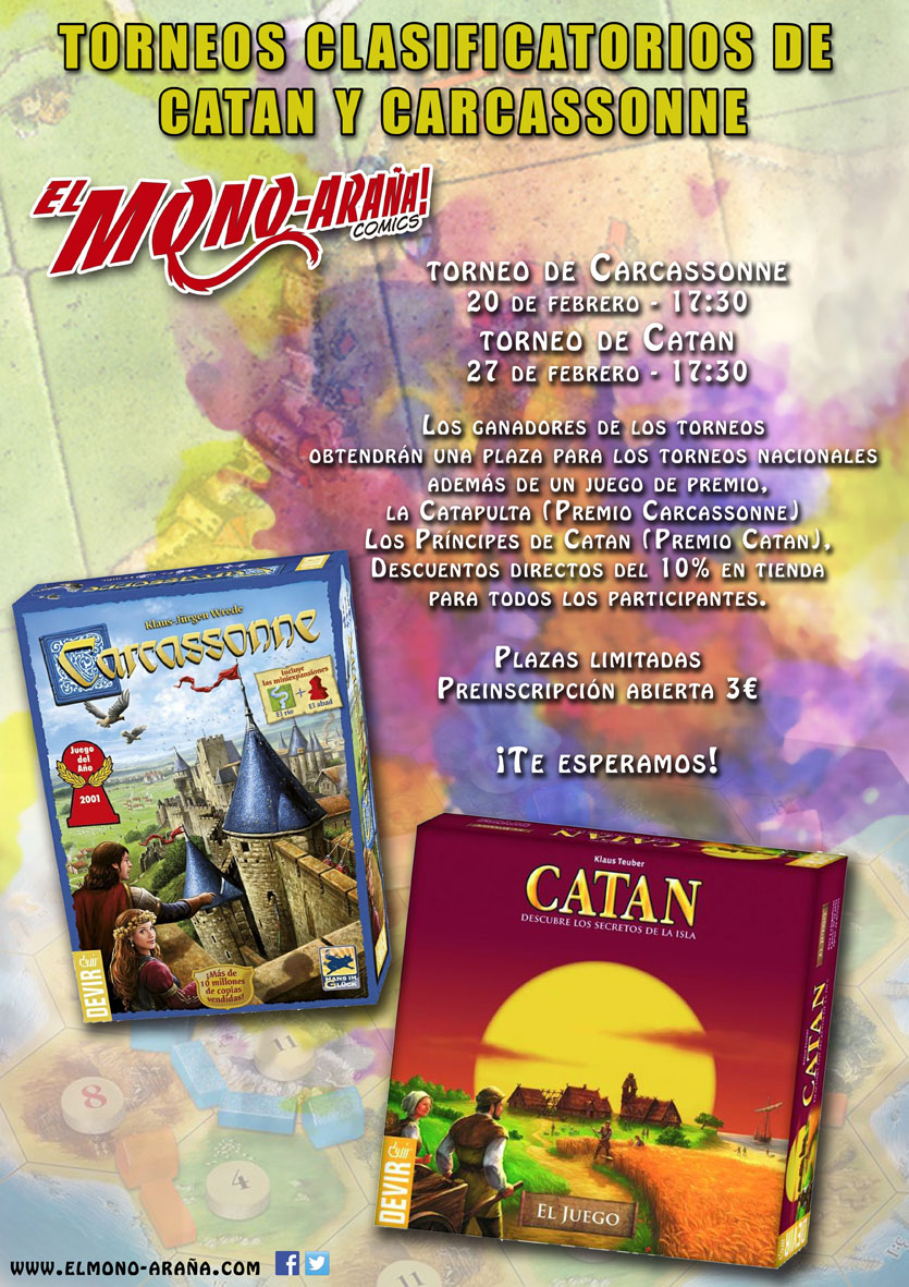 Clasificatorio de Catan y Carcassone baja