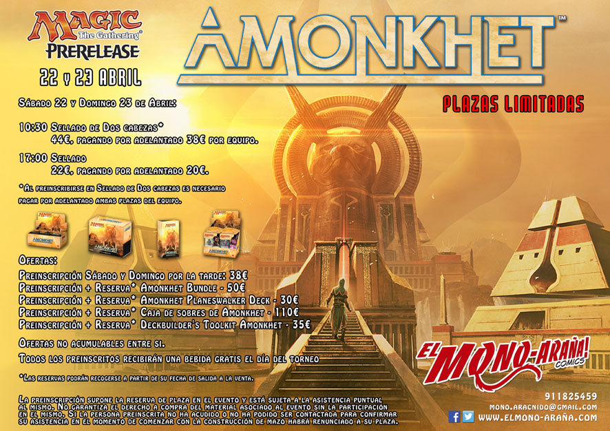 Amonkhet Prerelease web