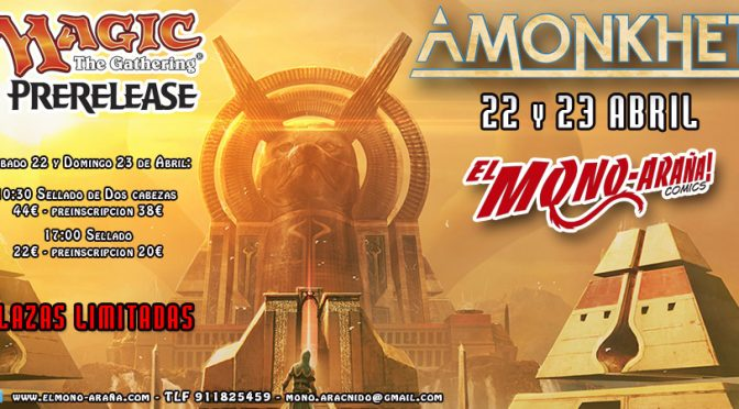 Magic Prerelease – Amonkhet