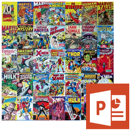 Crear comics gratis con power point