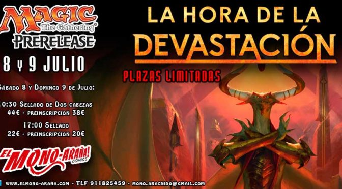 Magic Prerelease La Hora de la Devastación