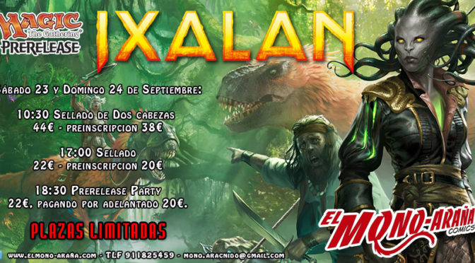 Magic Prerelease Ixalan