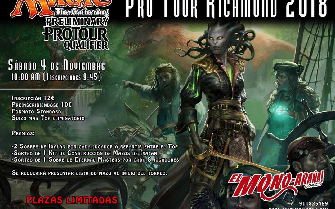 Preliminary Pro Tour Qualifier Pro Tour Richmond 2018