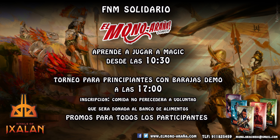 Friday Night Magic Solidario