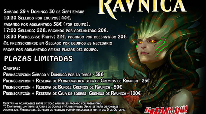 Magic Prerelease Gremios de Ravnica